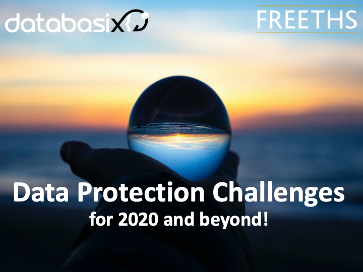 Data Protection Challenges 2020