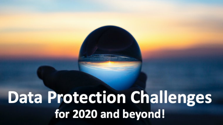 Webinar: Data Protection Challenges 2020 and Beyond