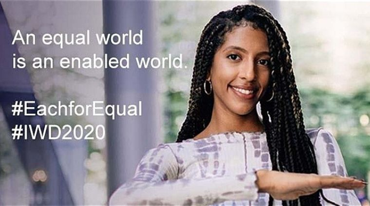 An Equal World is an Enabled World #IWD2020